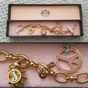 New HTF Limited Juicy Flower Child Charm Bracelet